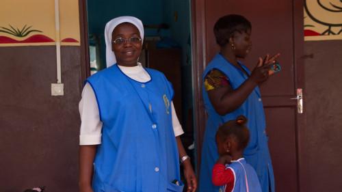 Marie Luise, Leiterin des Kindergartens